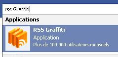 rss graffiti application facebook logo