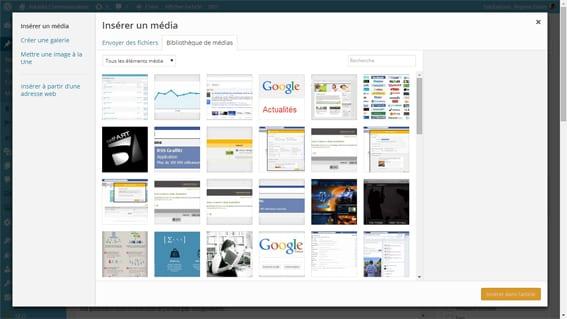 gestion des images sous wordpress