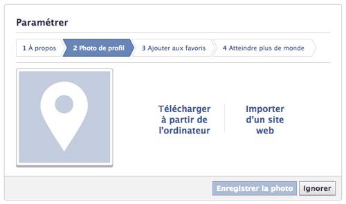 facebook parametre photo