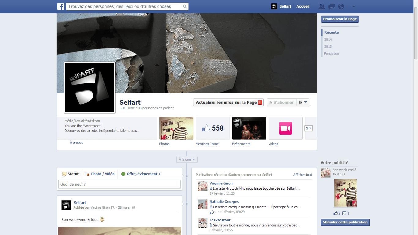 facebook self-artworks.com