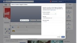facebook bouton call to action