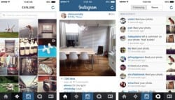 instagram reseau social mobile application smartphone